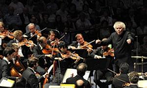 Simon Rattle and the Berlin Philharmonic