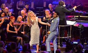 Paloma Faith and Ty Taylor at Royal Albert Hall