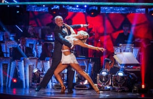 Len Goodman struts his stuff in the Strictly Come Dancing launch episode