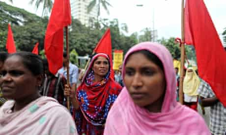 Rally for victims of Rana Plaza and Tazreen Garments disasters