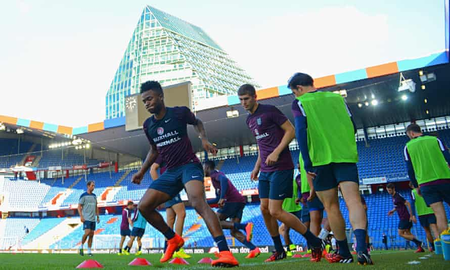 England Training Session And Press Conference