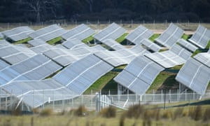 Solar farm near Canberra