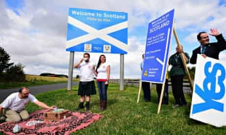 Scotland's yes campaign