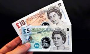 Bank Of England Polymer Banknotes