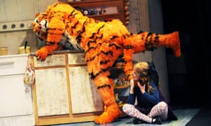 'And all the water in the tap' ... The Tiger Who Came to Tea.