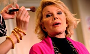 Joan Rivers, A Work in Progress by a Life in Progress at Leicester Square theatre in 2008