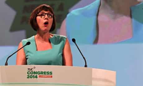 Frances O'Grady at TUC congress