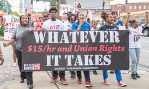 US Money union strikes