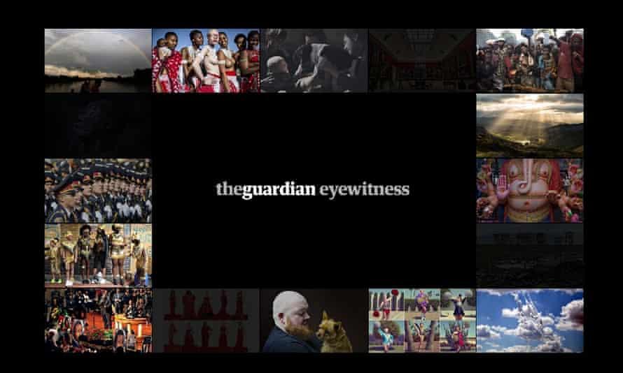 The Guardian Eyewitness app
