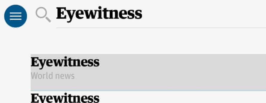 Search for Eyewitness and choose the first option