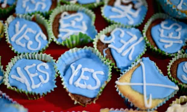 Scotland's Yes Campaign cakes