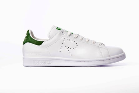 Raf Simons' take on the classic Stan Smith, as seen everywhere at NYFW.