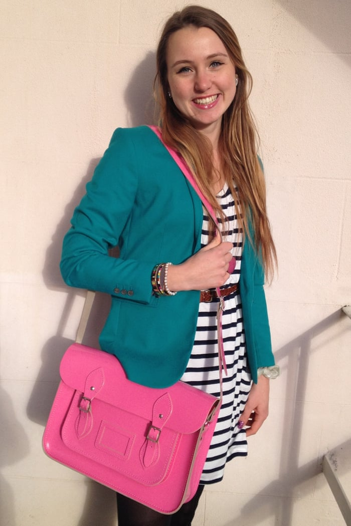 Rachel Hosie's Cambridge Satchel