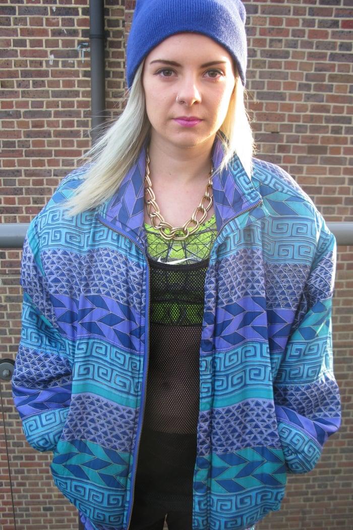 Katie Thomas's bomber jacket
