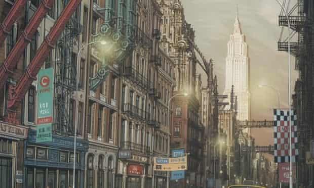 New York as Gotham City