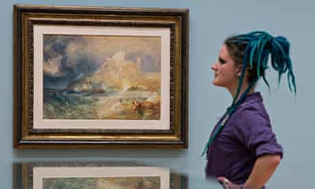 Rare Turner Paintings Brought Together For Tate Exhibtition