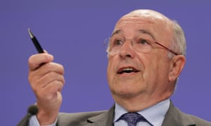 European commissioner for competition Joaquin Almunia. A proposed settlement with Google is now being reopened