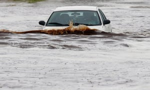 Storms that flooded several Phoenix-area freeways and numerous local streets during the Monday morning commute set an all-time record for rainfall in a single day. arizona
