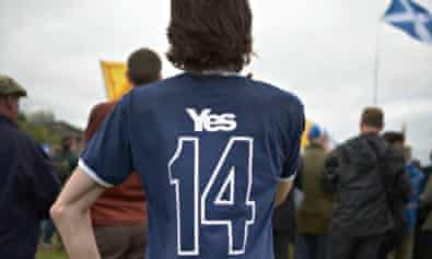 Scottish Independence March And Rally