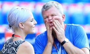 ITV presenter Adrian Chiles at the St Jakob-Park Stadium, Basel, before England's Euro 2016 qualifier against Switzerland.