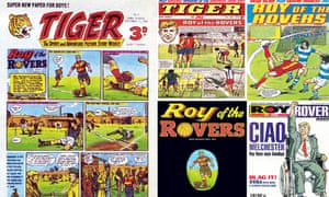 Roy of the Rovers through the ages.
