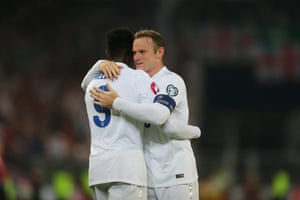 And is congratulated by his captain.