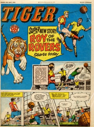 Roy of the Rovers in the 13 April 1963 issue of Tiger.