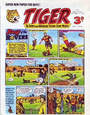 11th September 1954 saw the first ever issue of Tiger – the sport and adventure picture story weekly – which features Roy of the Rovers.