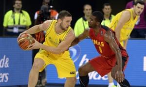 Australia Angola basketball