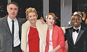 Greg Wise, Emma Thompson, Gaia and Tindy