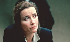 Emma Thompson as solicitor Gareth Peirce in 1993's In The Name Of The Father
