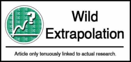 Wild extrapolation science classification