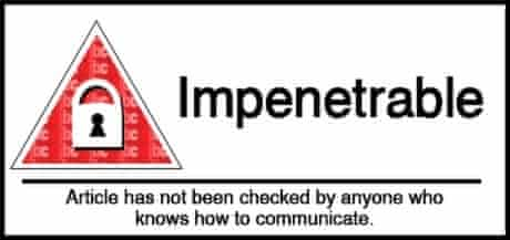 Impenetrable science classification