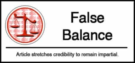 False Balance Science Certification