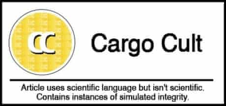 Cargo Cult science classification