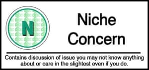 Niche Concern Science Article