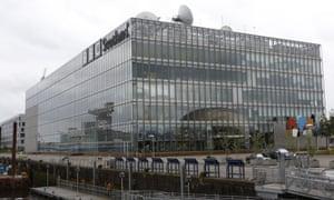 BBC Pacific Quay is BBC Scotland's television and radio studio complex in Glasgow.