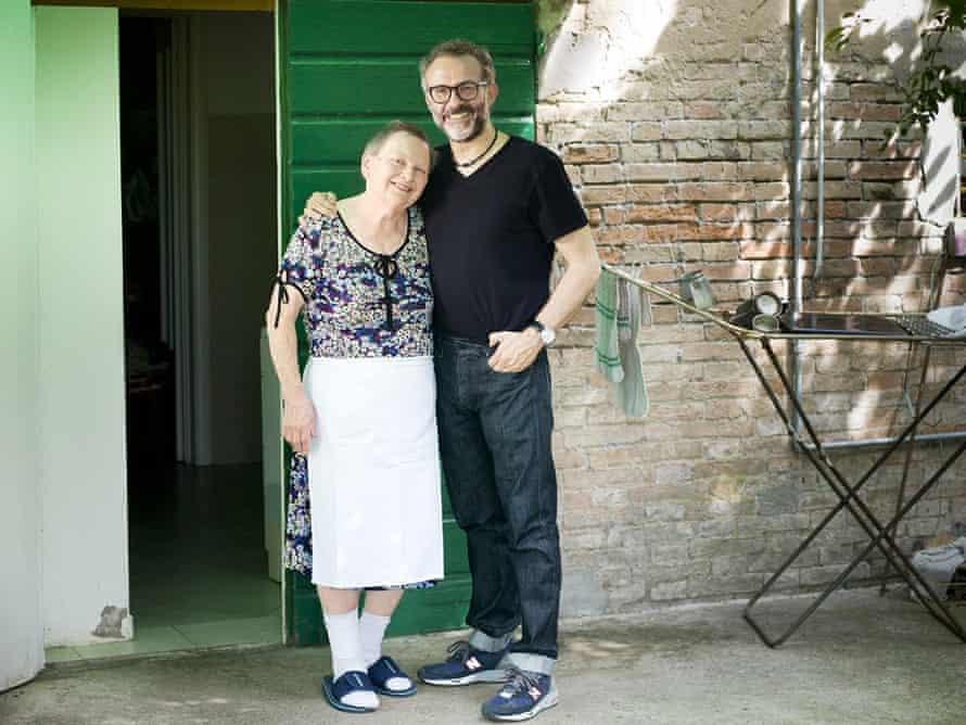 Massimo Bottura with with Lidia Cristoni