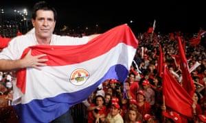 PARAGUAY-CAPIATA-POLITICS-CARTES