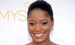 Keke Palmer arrives to the 66th Annual Primetime Emmy Awards