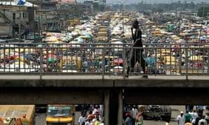 Bridge in Lagos Nigeria