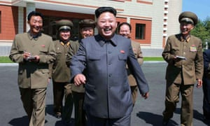 Kim Jong-un visits the October 8 factory