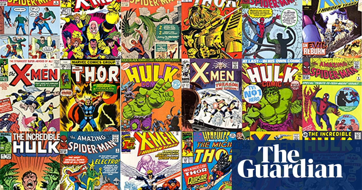 Al Murray: Why I love Marvel comics | Comics and graphic novels | The  Guardian
