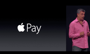 Eddy Cue introduces ApplePay.
