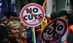 March against spending cuts London