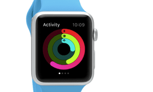 Apple Watch monitors your activity