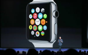 The Watch will run familiar apps from the iPhone, including Siri, Messages, email and Maps, but also run third-party apps like Twitter and Facebook.