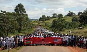 female genital mutilation protest