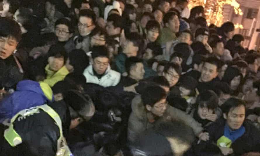 Shanghai new year stampede