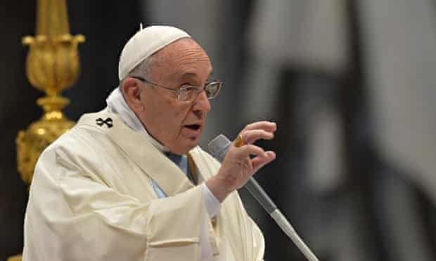 Pope Francis leads new year mass at St Peter's Basilica